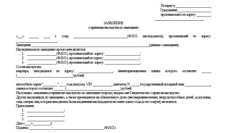 Особенности наследования по закону: сроки и порядок принятия или отказа от наследства